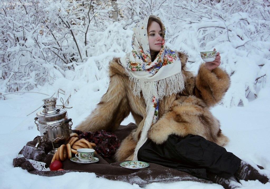 Зимняя фотосессия услуги фотографа