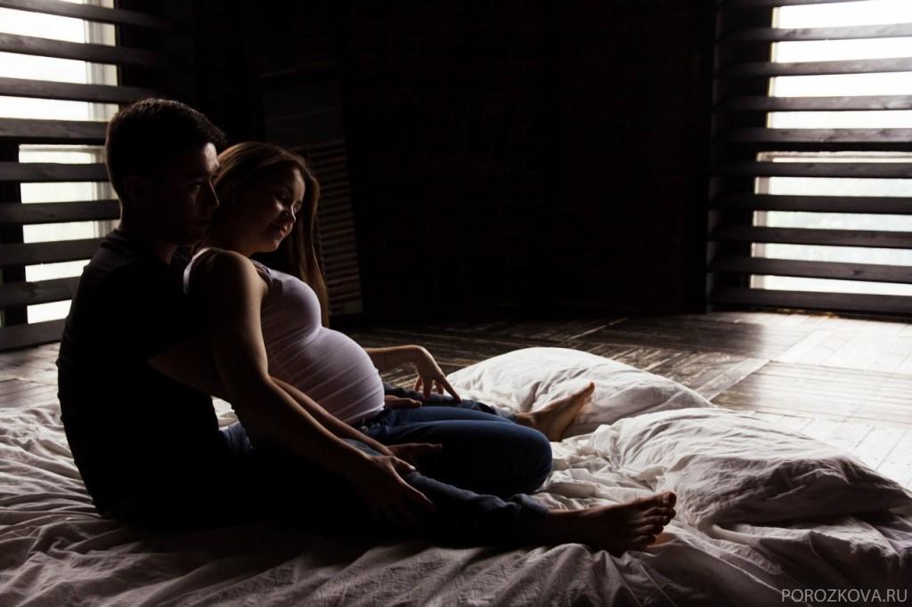 москва фотосессия беременности съемка с мужем на природе